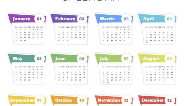 Календарики, бирки